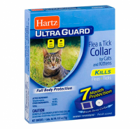 Ошейник Hartz для кошек 38 см, от блох и клещей ЛИЛОВЫЙ (H90745)