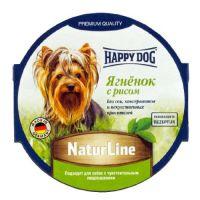 Happy Dog паштет для собак ягненок с рисом 85 гр