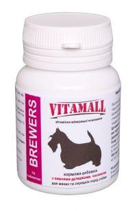VitamAll BREWERS для собак малых и средних пород 70 таблеток