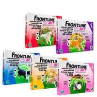 Frontline Tri-Act (Фронтлайн Три-Акт) капли от блох, клещей и комаров для собак весом от 2 - 5 кг, 5 - 10 кг, 10 - 20 кг, 20 - 40 кг, 40 - 60 кг