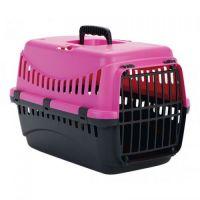Переноска GIPSY 1 small Pink розовая 44*28.5*29.5h пластиковая дверь