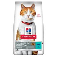 Hill's SP Feline Sterilised Cat Young Adult 6 months - 6 years (with Tuna) - Хиллс повседневный корм для стерилизованных кошек с 6 месяцев до 6 лет (сухой корм с тунцом) 0,3 кг; 1,5 кг; 3 кг; 10 кг