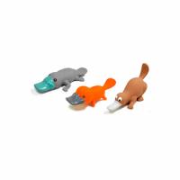 Croci Игрушка-пищалка для собак Утконос, латекс, 19 см